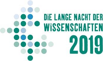 16. LANGE NACHT DER WISSENSCHAFTEN 2019 in Rostock - Logo
